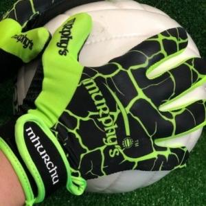 Black Lime Green Gaelic Gloves