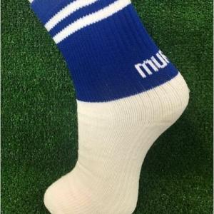 Blue & White Gaelic Football Socks