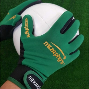 Green Gaelic Gloves