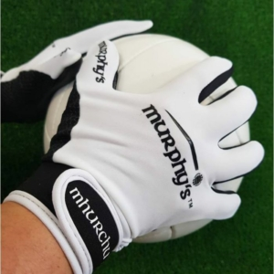 White & Black Gaelic Gloves