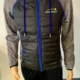 Murphy's padded jacket Black and Blue