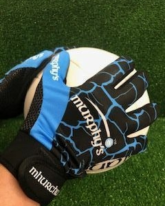 New Black Blue Gaelic Gloves