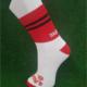 Red & Black Gaelic Football Socks