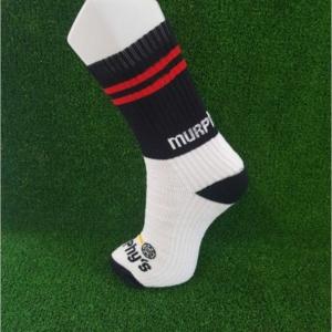 Black & Red Gaelic Football Socks