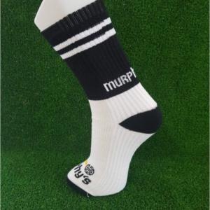 Black & White Gaelic Football Socks