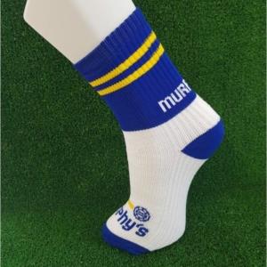 Blue & Yellow Gaelic Football Socks