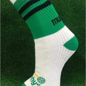 Green & Black Gaelic Football Socks