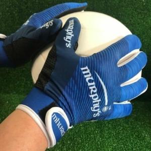 Navy & Blue Two Tone Gaelic Gloves