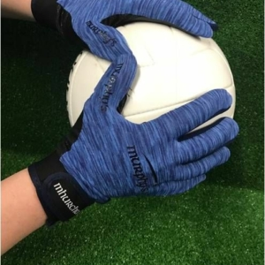 Sky & Navy Melange Gaelic Glove