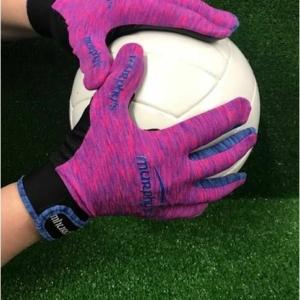 Pink & Blue Melange Gaelic Gloves