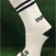 White & Black Gaelic Football Socks