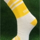 Yellow & White Gaelic Football Socks